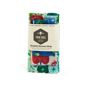 Life Wild - Honeybee Beeswax Wraps Pack of 3