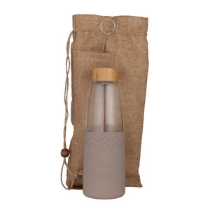 Life Wild - Wild Out Kit - Reusable Bottle with Pouch - Seaside Slate