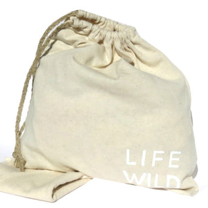 Life Wild - Upcycled Bag & Napkins