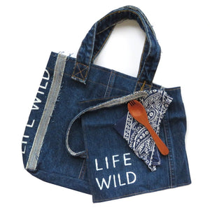 Life Wild | Wild Child Reusable Tote & Cutlery Set