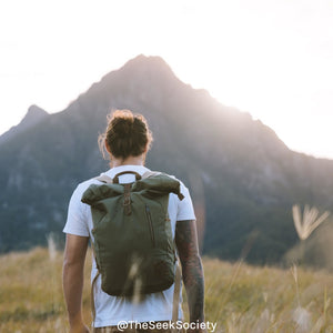 Life Wild | Roamer Archival Backpack, The Seek Society