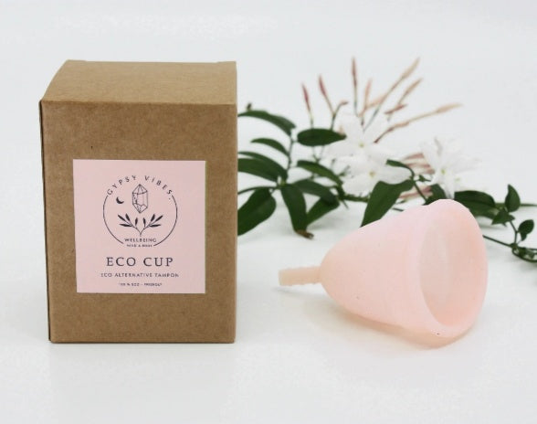 Reusable Eco Moon Cup - 100% Plastic free