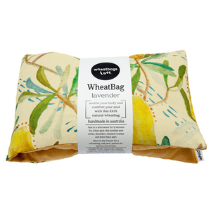 Natural Hot/Cold Wheatbags - 100% Handmade in Australia & Compostable