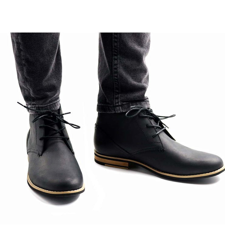 Neat-Footwear-Case-Chukka-Black-Front-Product-Page