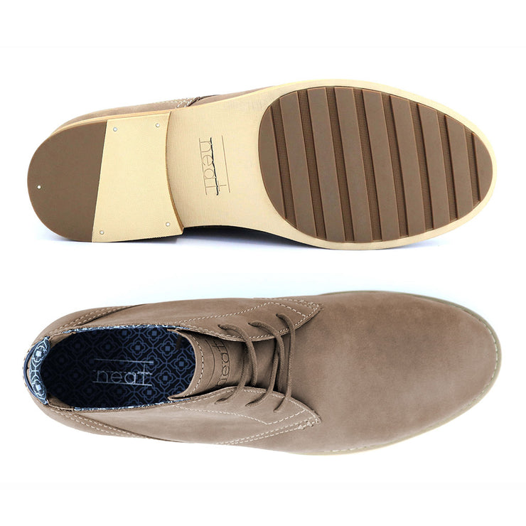 Neat-Footwear-Case-Chukka-Teak-Top-View-Product-Page