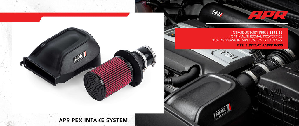 New APR PEX Intake System for 1.8T and 2.0T