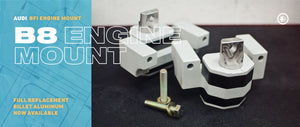 New BFI  B8 Performance Engine Mounts