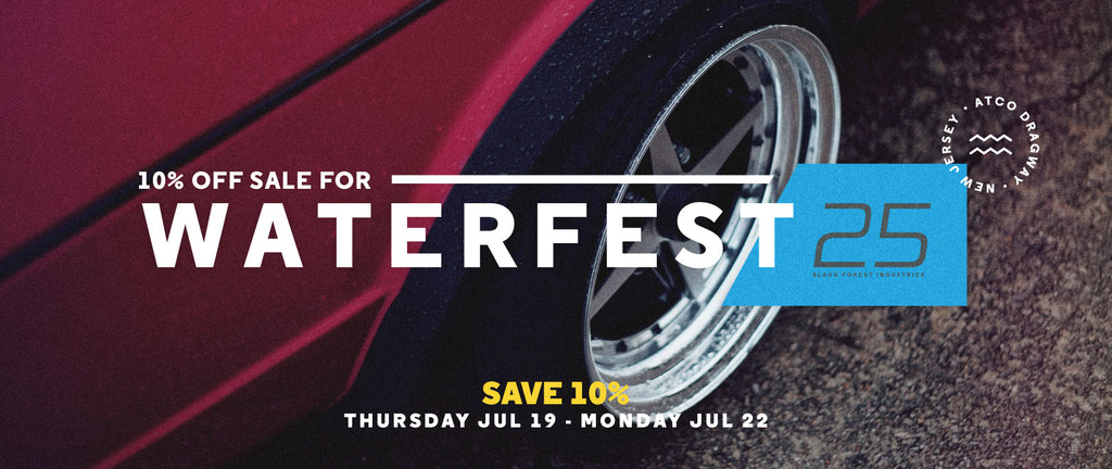 Waterfest 25 Sale