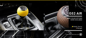 Black and Yellow and Brown GS2 Shift Knobs
