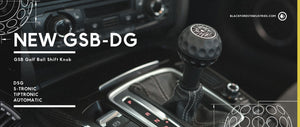 New GSB Golf Ball Shift Knob for DSG Auto VW and Audi