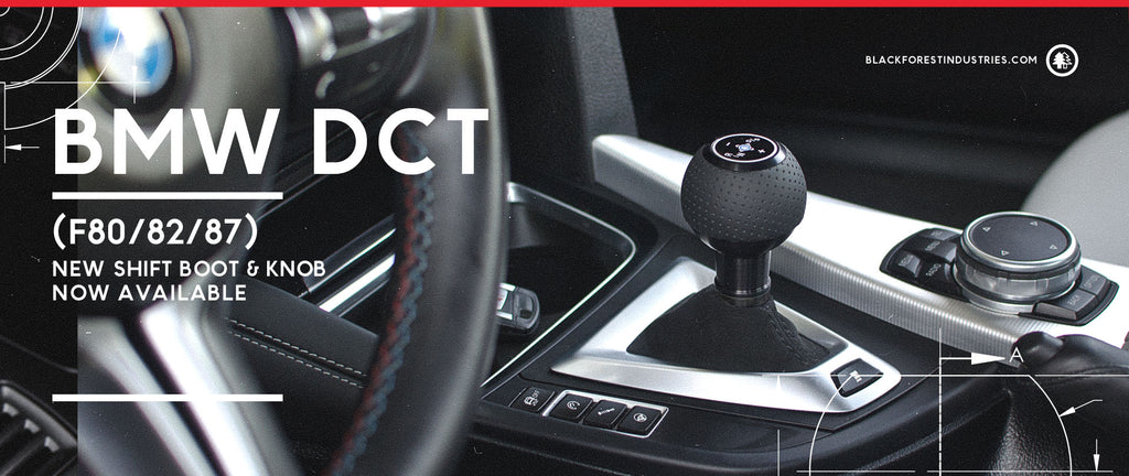 New BMW DCT Shift Knob And Boot Combo