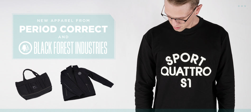 New Apparel From Period Correct and BFI