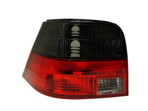 MK4 Golf / GTI Taillights (Crystal Smoke/Red)