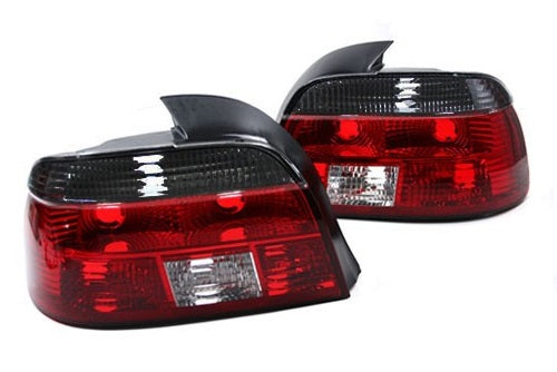 BMW 1997-2000 E39 Euro Taillights (Crystal Red / Smoke)