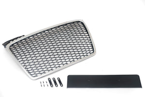 Audi B7 A4 Mesh Grille  (Chrome Surround)