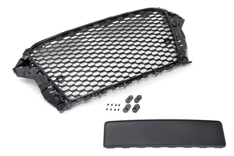 Audi 8V A3/S3 - RS3-Style Grille w/ Black Trim