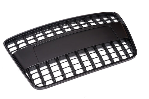 Audi Q7 Black Optic Badgeless Grille - 4L - Pre-Facelift