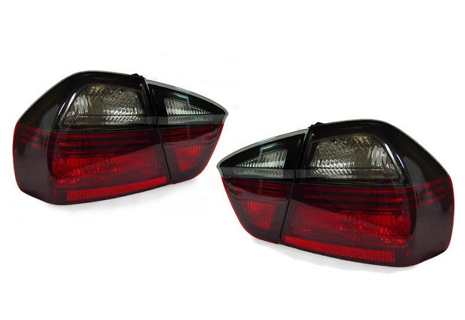 E90 200-2008 Taillights (Smoke / Red)