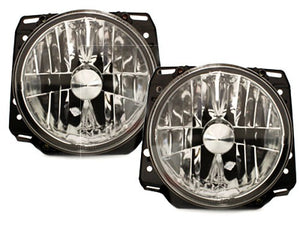 "MK2 7"" Crystal Clear Headlights (Pair)"