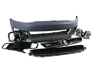Replica MK6 Jetta Sedan GLI Front Bumper Conversion Kit