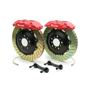 MK4 Brembo GT 4-Piston 328x28 Brake Kit (2-Piece Rotors)