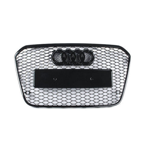 RS Style Grille 4G A6/S6 - Black optic / Black Frame - Pre-Facelift