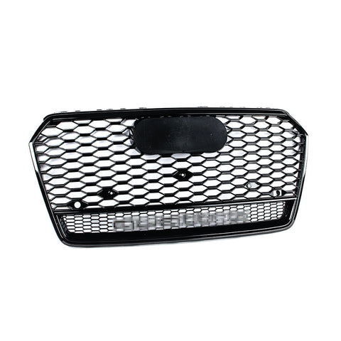 RS Style Grille - 4G Facelift A7/S7/RS7 Black Optic - w/ Quattro