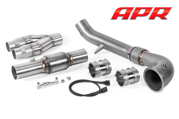 APR TT- RS Cast Downpipe Exhaust System