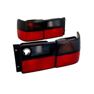 MK3 Jetta Taillights (Red/Smoked Faceted)