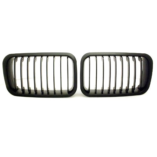 BMW E36  Black Kidney Grilles (1992-1996)