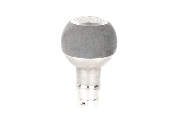 BFI GS2 Heavy Weight Shift Knob - Gray Alcantara (BMW Fitment)