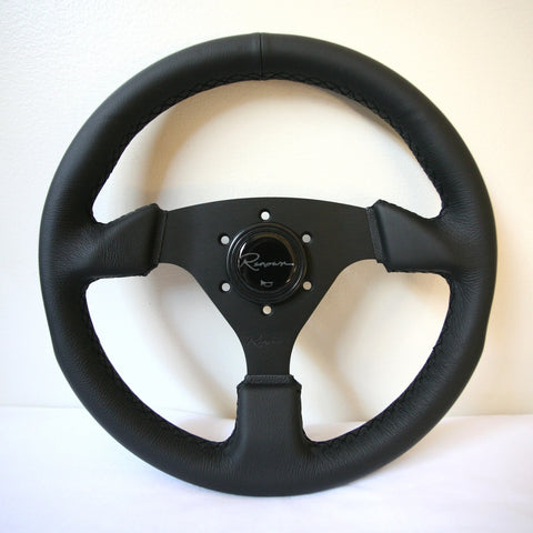 Renown Clubsport Steering Wheel - Black Stitching