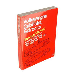 Bentley Repair Manual - Scirocco II / Cabriolet