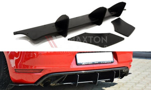 Maxton Design MK6 GTI Rear Diffuser & Rear Side Splitters