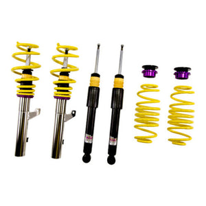 KW Coilover Kit V1 Jetta VI S 2.0; Sedan (Solid Rear Axle)