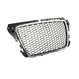Audi 8P A3 FACELIFT RS-Look Grille (Black/Chrome)