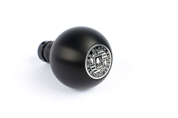BFI Heavy Weight Shift Knob SCHWARZ - Full Billet (VW/Audi Fitment)