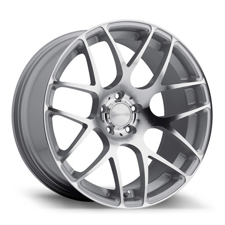 AvantGarde M310 20x10.0 5x112 et35 - Silver Machined