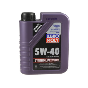 Lubro Moly Synthoil Premium 5W40 Synthetic Oil (1 Liter)