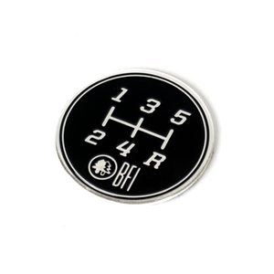 5-Speed Gate Pattern Coin for Heavy Weight Shift Knobs (Longitudinal)