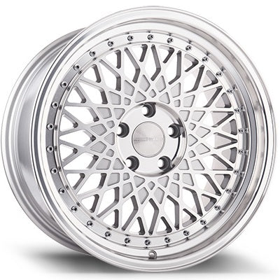 AvantGarde M220 19x9.5 5x120 et33 72.56CB - Silver Machined