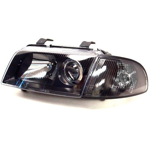 Audi B5 A4/S4 2-Piece Projector Headlights (Smoked - H7)