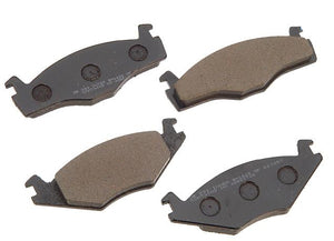 "9.4"" Front Brake Pads - Vented Rotors"