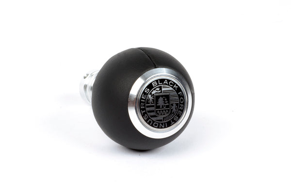BFI GS2 Heavy Weight Shift Knob - Black Nappa Leather (BMW Fitment)