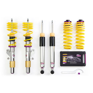 KW Coilover Kit V3 Jetta VI S 2.0; Sedan (Solid Rear Axle)