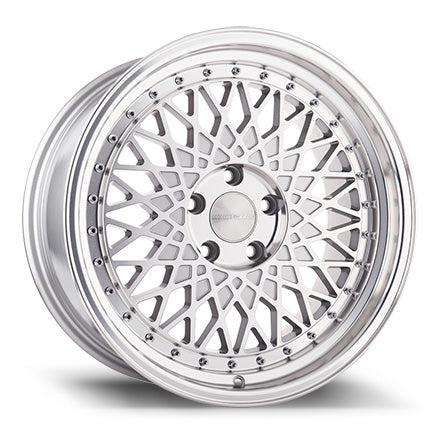 AvantGarde M220 18x8.0 5x100 et30 - Silver Machined