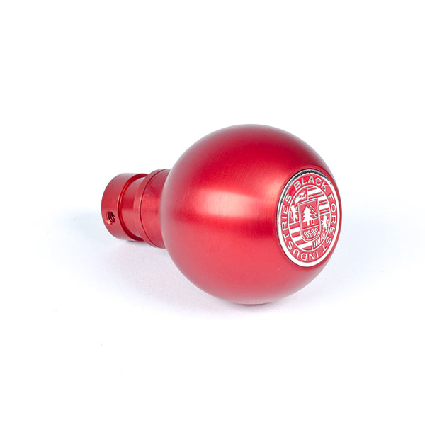 BFI Heavy Weight Shift Knob RED - Full Billet (BMW Fitment)
