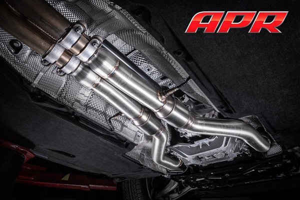 APR Cast Downpipe Exhaust System for the 4.0 TFSI