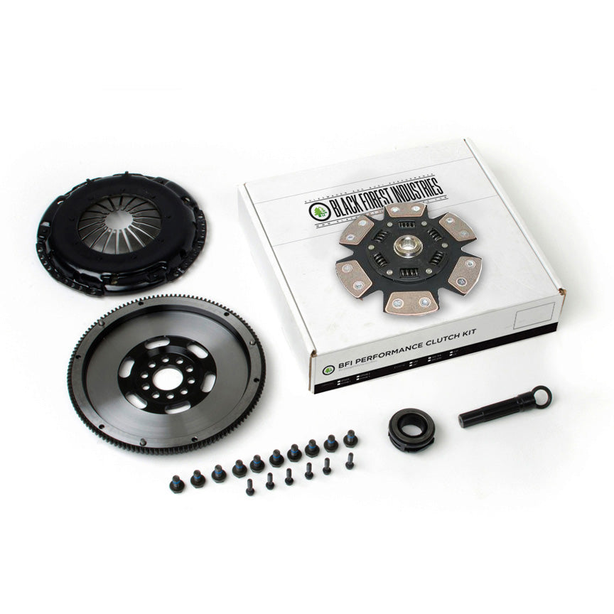 BFI 1.8T 228mm Longitudinal Clutch Kit and Lightweight Flywheel - Stage 4