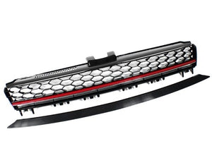 MK7 Red Stripe Badgeless Lighting Package Grille